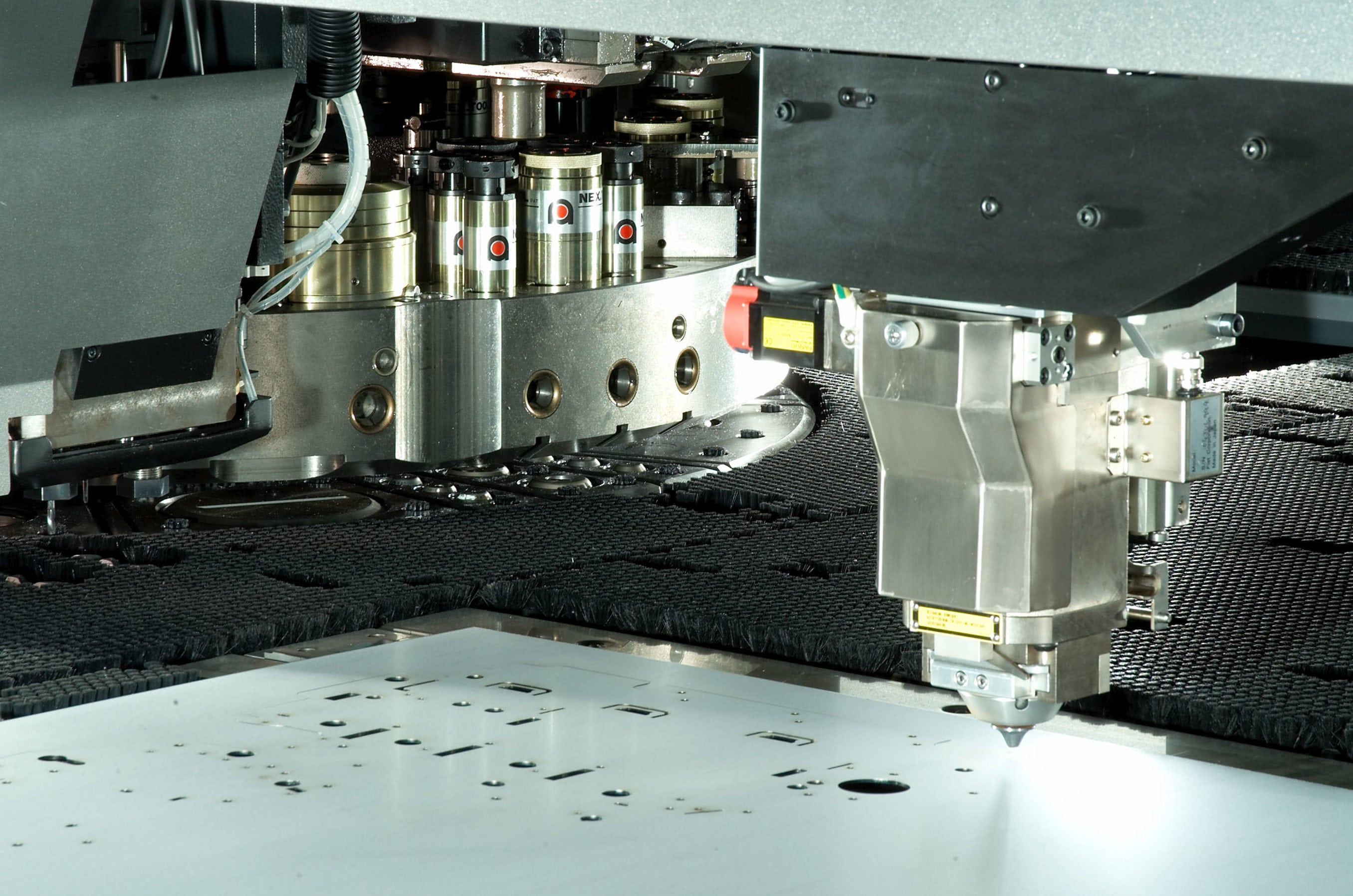 CNC punching-laser cutting