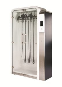Drying cabinet for endoscopes